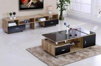 Living Room Furniture Glass Top Tea Table Center Table ...