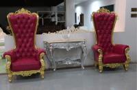 Danxueya- royal wedding chair/ high back king throne spa ...