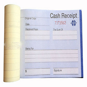 Color Carbonless Duplicate Paper Printing And Invoice Copy Book