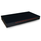High -quality 16 ports KVM switch, 16 input 1 output, rack-mounted industry crate design