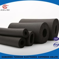 Black Color Nbr Foam Pipe Insulation For Air Conditioner ...