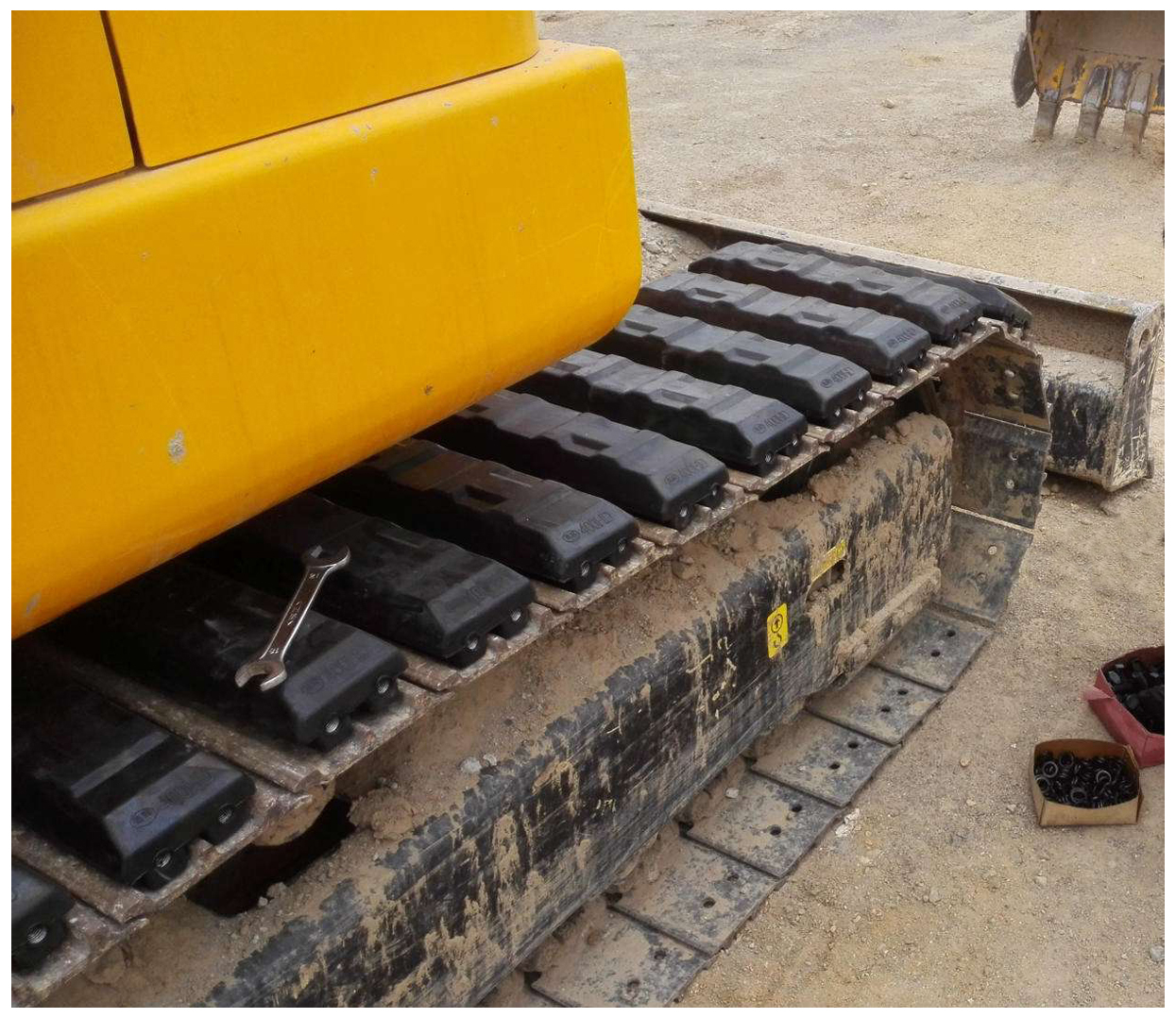 China Suppliers Alibaba Excavator Rubber Track Pad Rubber Track Shoe Rubber Track