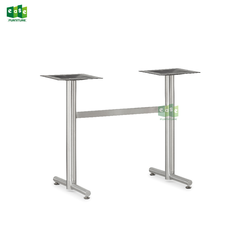 Stainless Restaurant Table High Quality Restaurant Furniture Double Feet Stainless Steel Table Leg E9716 Buy Stainless Steel Table Leg Double Feet Table Leg Restaurant