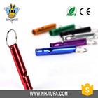 Top gift promotion outdoor aluminum alloy outdoor whistle