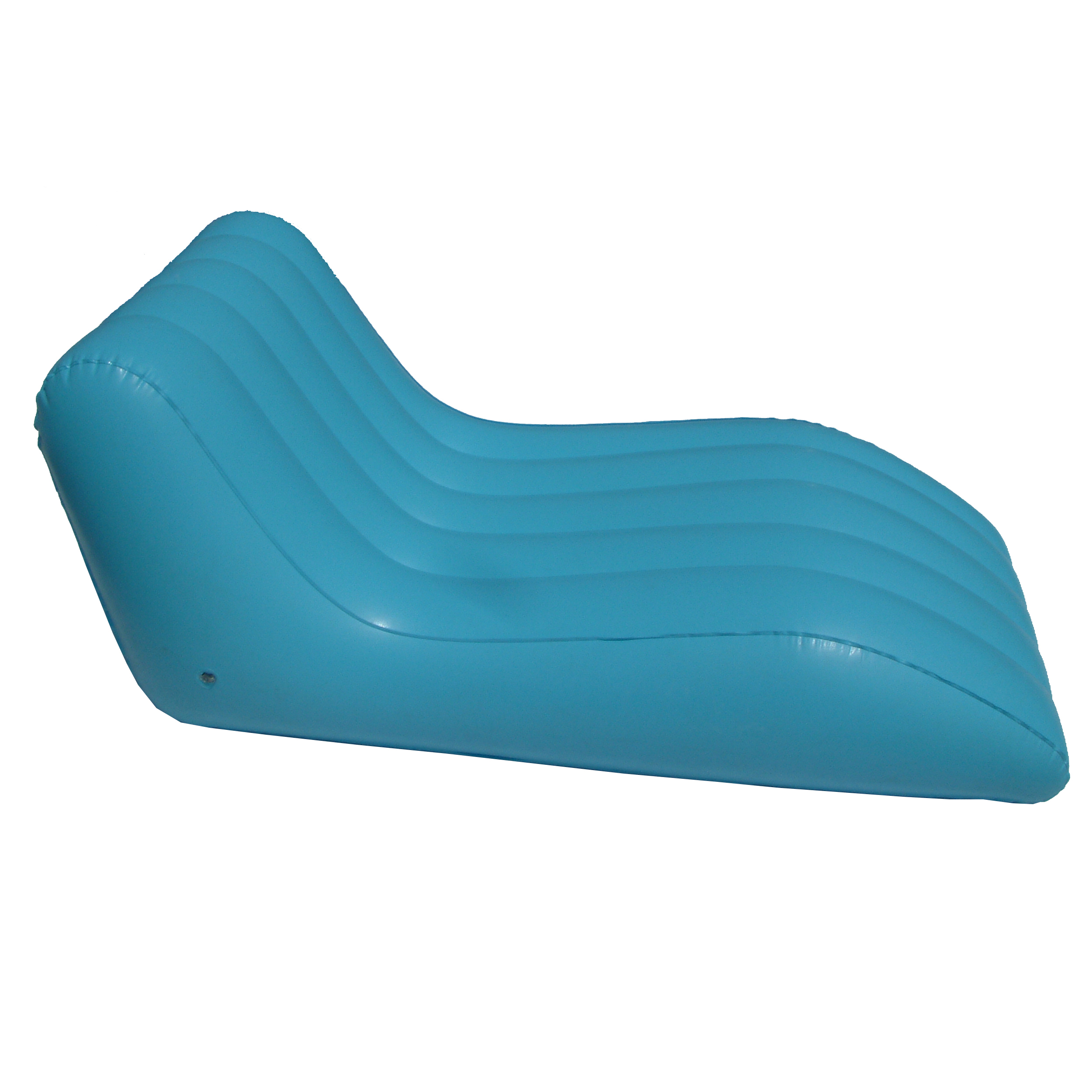Pvc Flocking Bedroom Inflatable Lounger Air Sofa With Inflatable - Inflatable Chair Sofa