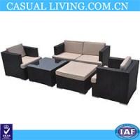 Kontiki Patio Furniture Wicker Conversation Group - Buy ...