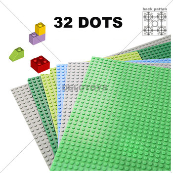 32*32 Dots Abs Material Plastic Building Blocks Base Plate Toys amp
