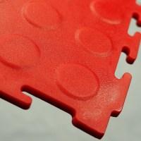 rotes click lock pvc fliesen garage-Plastikboden-Produkt ...