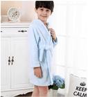 Fantasy soft hooded coral fleece bathrobe custom made for children