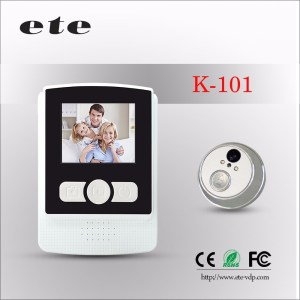 Night vision infrared exitec motion detection sensor digital wireless door viewer