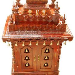 Wooden Pooja Mandir Wooden Pooja Mandir Suppliers and Manufacturers