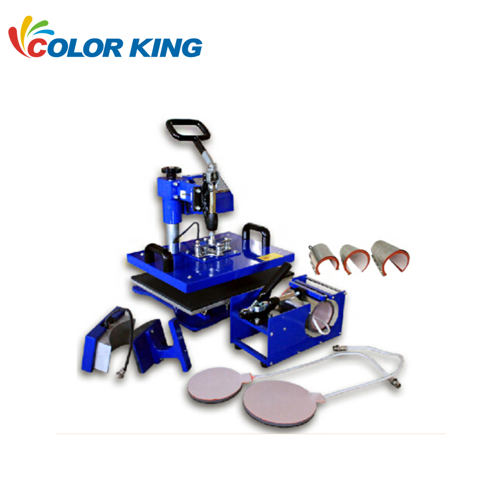 Sublimation Press 5in1 Combo Heat Press Machines For Sale Fabrication Heat Transfer Printing Process T Shirt Sublimation Pressing Buy Multifunctional Heat Press