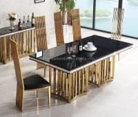 Italian Marble Dining Table Set - Dining room ideas