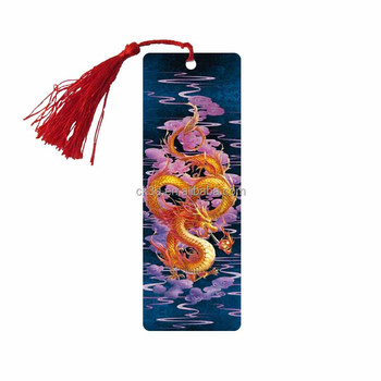 Personalized Beautiful Standard Size 3d Bookmark Design - Buy - bookmark size