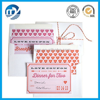Elegant Design Custom Printing Coupon Book Supply In Xiamen - Buy