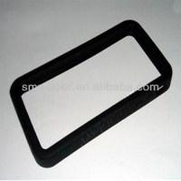 Silicone Rubber License Plate Holder Bumper Guard - Buy ...