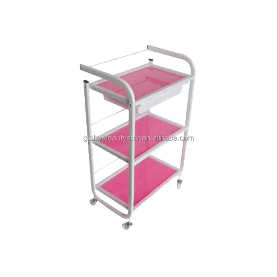 Beauty Trolleys Beautystar 2015 Hot Sale Salon Trolley Salon Cart Beauty Trolley Red Colour Buy Hairdressing Trolley Hair Salon Trolleys Trolley For Sale Product On