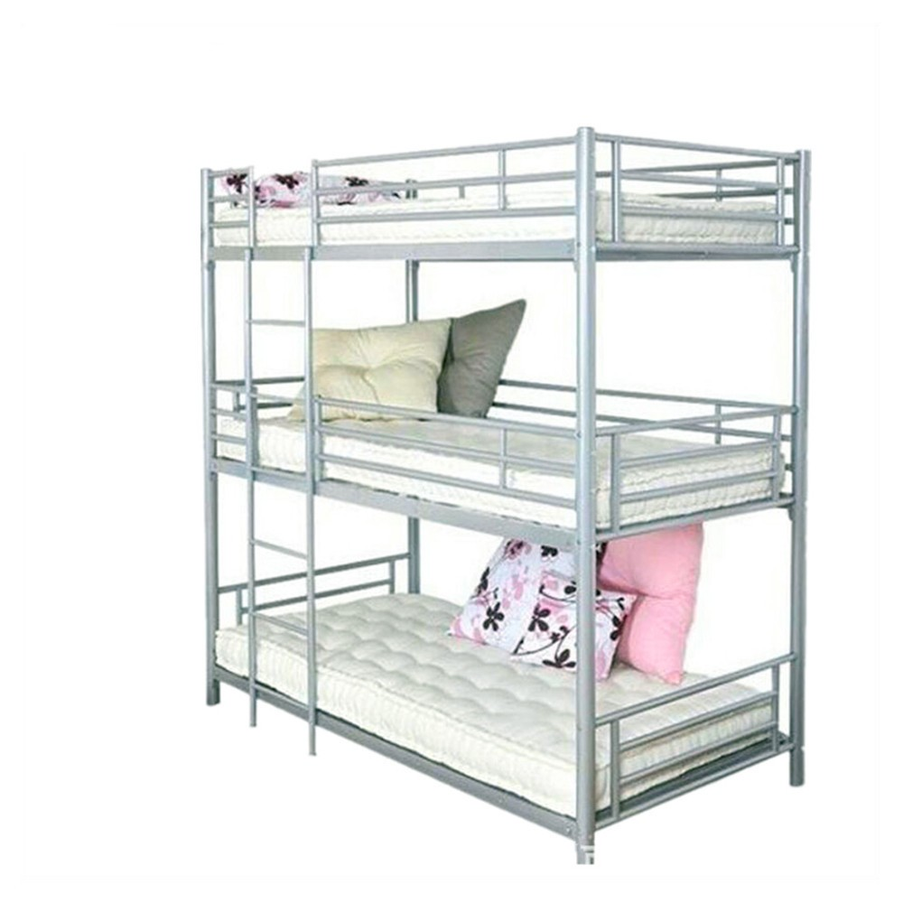 Etagenbett Metall Etagenbett 3 Etagen Kids Bedroom Tier Bunk Bed In Dominique