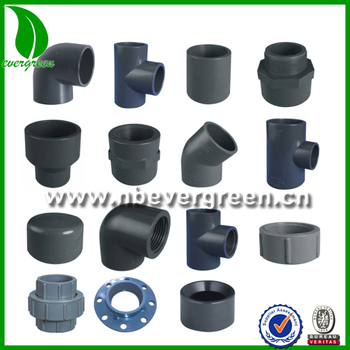 Names Of Pvc Pipe Fittings