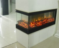 Double Sided ( 2 Sided )electric Fireplace - Buy 2 Sided ...