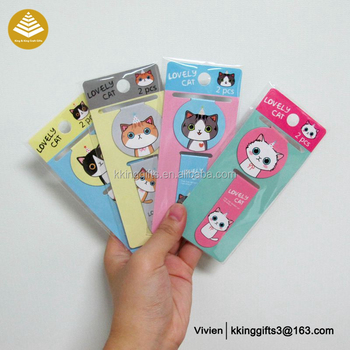 Custom Promotional Magnetic Korean Anime Bookmarks Printable - Buy