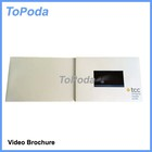 Factory offer lcd video brochure