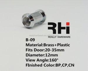 High Quality Brass Door peephole B-09 fit UPVC door