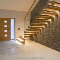 Modern Solid Wood Folding Stairs / Build Floating ...