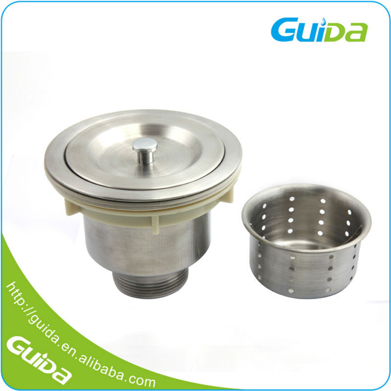 Stainless Steel Plug Sink Inserts Parts Drain Wash Basin