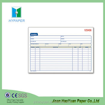 Purchase Order Form Receipts Tax Invoice