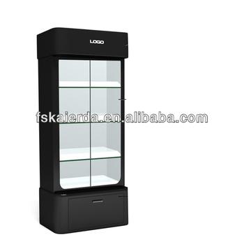Lockable Living Room Modern Glass Display Cabinet - Buy Glass - living room display cabinets