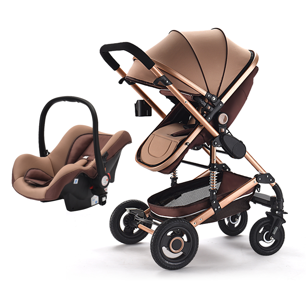 Lightweight Folding Pram 2018 New Baby Pushchair Lightweight Baby Stroller Foldable Pram Buggy Luxury Baby Stroller 3 In 1 Pram Buy Baby Trolley 3 In 1 Lightweight Baby