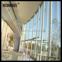 Decorative Glass Wall Fittings,Curtain Wall System ...