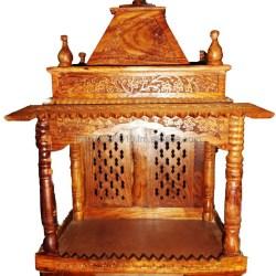 Wooden Mandir Temple in Sheesham Buy Mandir Temple India Home