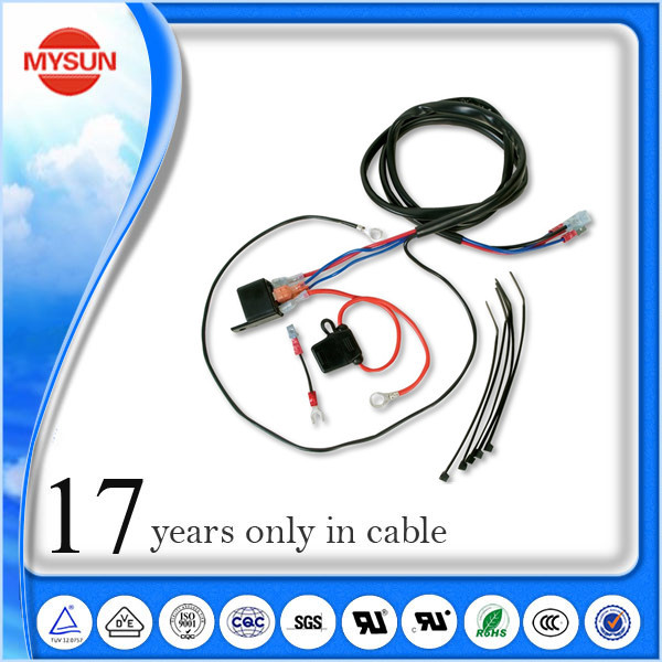 automobile horn wire harness_Yuanwenjun