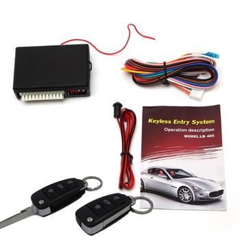 Auto Flip Key Keyless Entry System Universal Remote Trunk Release Lb