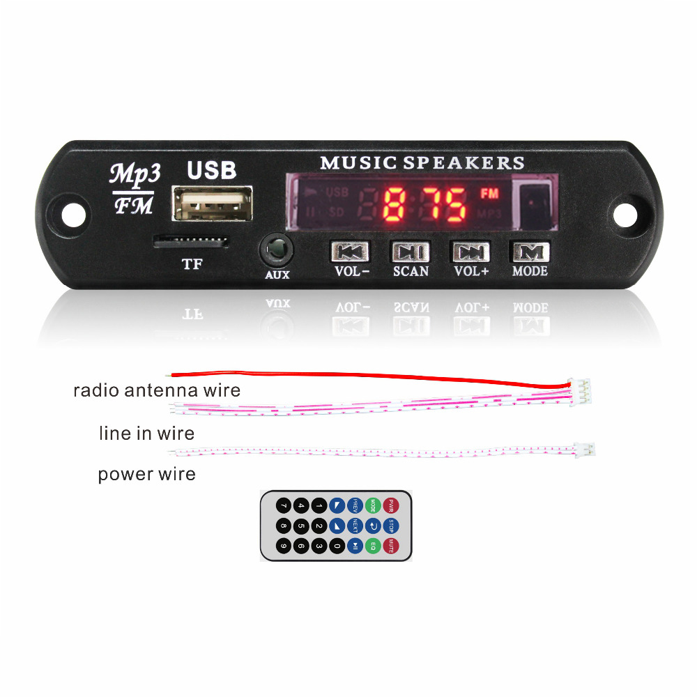 Mp3 Audio Dc 12v Mp3 Audio Player Radio Decoder Module With Aux 747d Mp3 Wav Usb Fm Audio Player Decoder Board Buy 747d Mp3 Board 747d Mp3 Audio Decoder