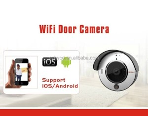 720P wifi door camera with iOS & Android APP
