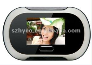 wireless digital peephole door viewer monitor