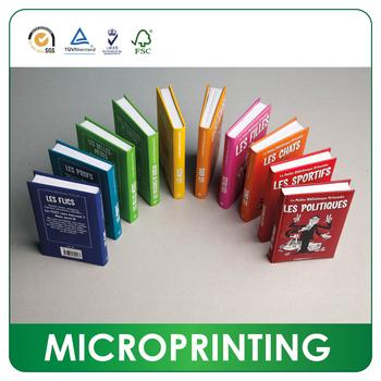 Factory Mini Printing Coupon Book Printing - Buy Mini Book Printing