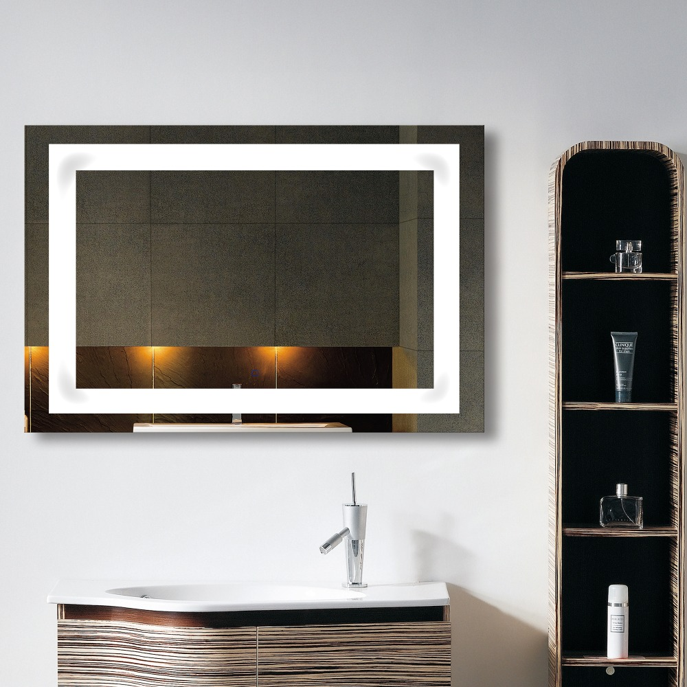 Bathroom Mirror Attached Light Suppliers And Download