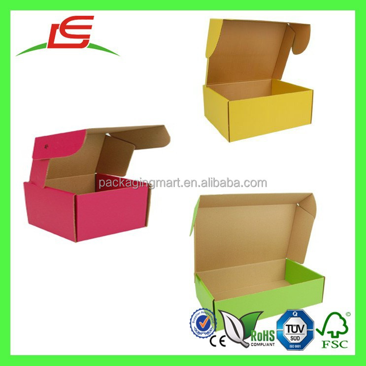 Q1098 Custom Printed Colored Mailer Boxes,Strong Shipping Box