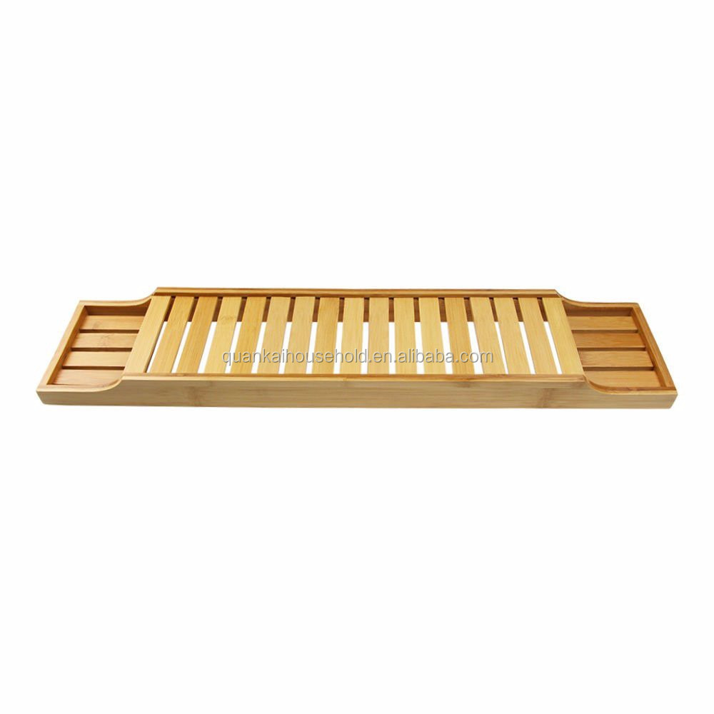 Badkamer Tray Bamboe Hout Bad Tray Caddy Badkamer Caddies Opslag Planken Grote Maat Zal Fit Meest Tubs Buy Bamboe Bad Caddy Badkamer Rack Bad Lade Product On