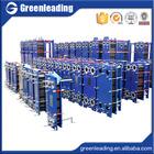 Titanium refrigerant gasket plate heat exchanger for Marine
