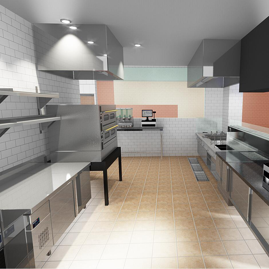 Commercial Kitchen 3d Design China Professional Commercial Kitchen 3d Design And Cad Commercial