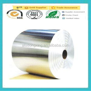 round paperboard container by aluminium foil 3104