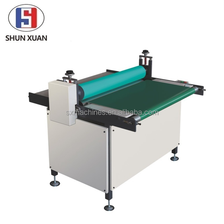 Paper Roller Flattener With Conveyor Cartridge Use Electric Flat