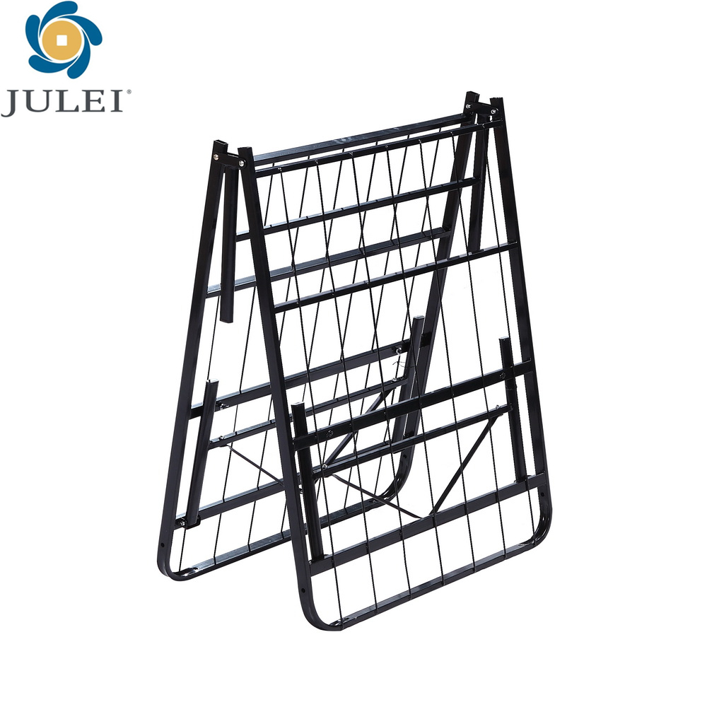 Betten Für Kleine Räume Neues Design Beliebte Eisen Klapp Bett Stahlrahmen Dj-pq12 Betten Für Kleine Räume - Buy Steel Frame,iron Folding Cot,folding Beds For Small Spaces Product On Alibaba.com