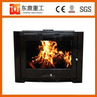 Large Cast Iron Wood Fireplace/wood Burning Stove Insert ...