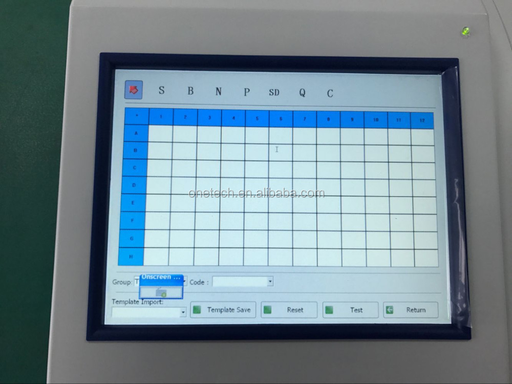 Integrated Computer System Elisa Lab Machine / Touch Screen Popular